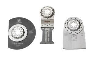 FEIN Pack 3 pièces Starlock Rénovation Spécial planchers pour outil multifonction - FEIN - 35222967110