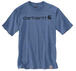 CARHARTT T-shirt manches courtes CORE LOGO taille S bleu ciel - CARHARTT - 103361