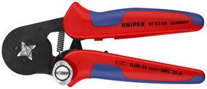 KNIPEX Pince à sertir auto-ajustable - KNIPEX - 97 53 04