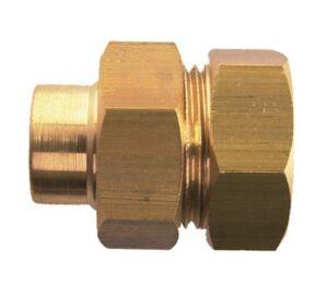 GARIS SANITAIRE Raccord 3 pièces union joint cônique femelle 12X17 - 12 - GARIS - D15502B