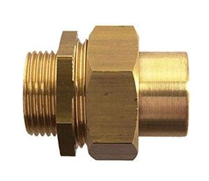GARIS SANITAIRE Raccord 3 pièces union joint cônique mâle 12X17 - 14 - GARIS - D150035