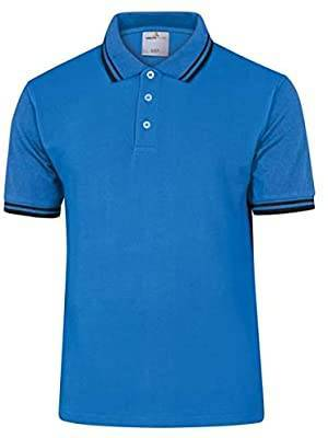DELTA PLUS Polo manches courtes 100 % coton AGRA coloris bleu taille M - DELTAPLUS - AGRABLTM