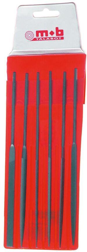 MOB OUTILLAGE Jeu de 6 limes aiguilles 160 mm - MOB OUTILLAGE - 0983162001