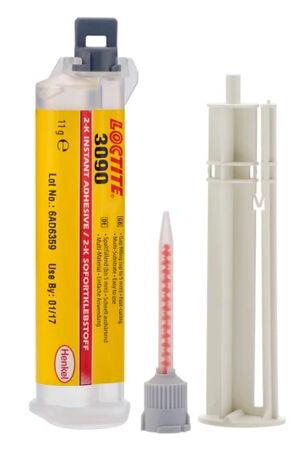 LOCTITE Adhésif bi-composant instantané 3090 seringue 11 g - LOCTITE - 1379570