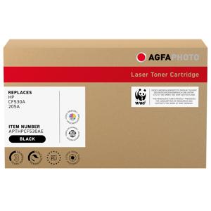 Agfa Photo Compatible avec HP 205A (CF530A) Agfa Photo APTHPCF530AE Toner Noir