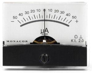 Monacor PM-2/+-50UA - Petits assistants et appareils de mesure