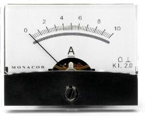Monacor PM-2/10A - Petits assistants et appareils de mesure