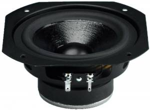 Monacor SPH-130 Haut-parleur de grave-médium Hi-Fi, 80 WMAX, 8 Ω - Haut-parleurs hi-fi au niveau des basses et des moyens