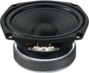 Monacor SPH-135TC Haut-parleur de grave-médium Hi-Fi, 2 x 60 WMAX, 2 x 8 - Haut-parleurs hi-fi au niveau des basses et des moyens