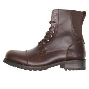 Helstons Chaussures STEVE Cuir Aniline + Stretch-HELSTONS