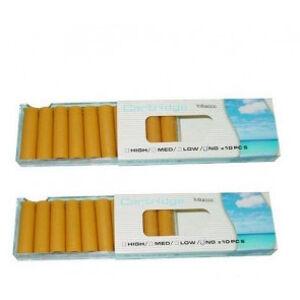 OutletSalud Pack 20 Recargas Cigarrillo electrónico