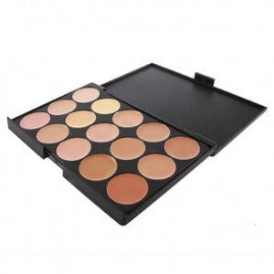 OutletSalud Paleta 15 Colores Neutros de Maquillaje Corrector