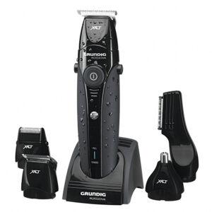 Grundig Tondeuse multifonction GRUNDIG - autonomie 120 min - 100% waterproof + accessoires - noir