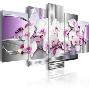 Artgeist 100x50 - Tableau - Orchidée et fantaisie