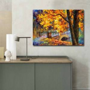 Wall Addiction Toile décorative - 70 x 100 cm - Leonid Afremov