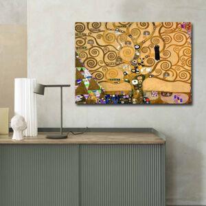 Brico Privé Tableau décoratif - 70 x 100 cm - Arbre de vie by Gustave Klimt