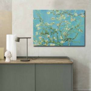 """Brico Privé Tableau décorative - 70 x 100 cm - """"Almond Blossom"""" by Van Gogh"""