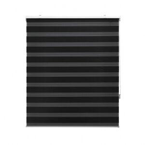 Storalia Store enrouleur jour/nuit - noir - 100 x 180 cm