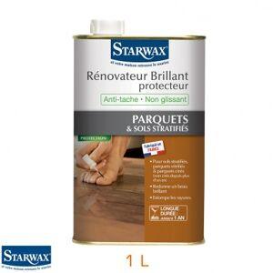 Starwax Rénovateur brillant protecteur anti-tache pour parquets & sols stratiiés - bidon 1 L