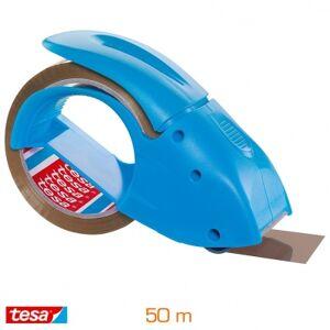 Tesa Dévidoir Pack'n'go silencieux bleu + rouleau PP 50 m - 48 mm