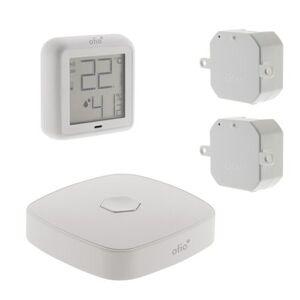 Otio Pack de démarrage chauffage connecté OtioHome (1 thermomètre hygromètre connecté, 2 modules pour radiateur, 1 box)