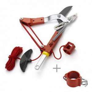 Outils Wolf Echenilloir à coupe enclume, 38 mm + guide corde (Manche interchangeable) - Multistar