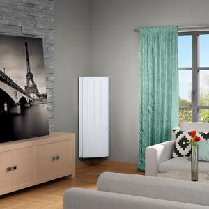 Sauter Radiateur àintertie Bolero SAUTER - vertical - 2 000 W - blanc