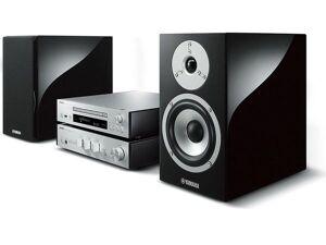 YAMAHA MusicCast MCR-N870D Silver+ HP Piano Noir