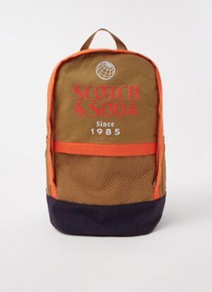 Scotch & Soda Sac à dos avec imprimé logo
