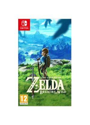 Nintendo Jeu The Legend of Zelda Breath of the Wild - Nintendo Switch