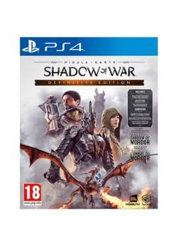 Warner Bros Middle Earth: Shadow of War (Definitive Edition) - PS4
