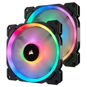 Corsair LL Series LL140 RGB Dual Pack - Noir