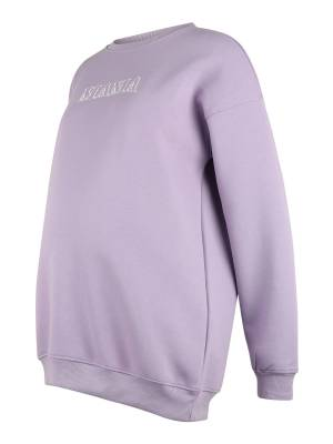 Missguided Maternity Sweat-shirt  - Violet - Taille: 14 - female
