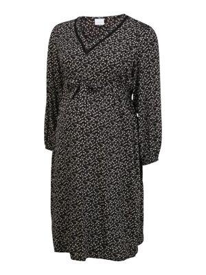 Mamalicious Curve Robe 'Zelina'  - Noir - Taille: 52-54 - female