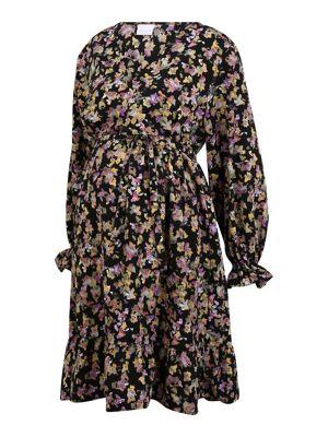 Mamalicious Curve Robe 'EMRA'  - MéLange De Couleurs - Taille: 46-48 - female