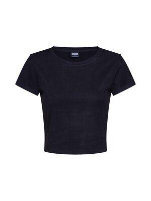 Urban Classics T-shirt 'Peached Rib'  - Noir - Taille: XL - female