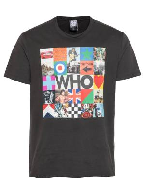 AMPLIFIED T-Shirt 'THE WHO BY THE WHO'  - Gris - Taille: XL - male