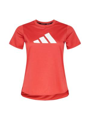 ADIDAS PERFORMANCE T-shirt fonctionnel 'Badge of Sport'  - Rouge - Taille: XXL - female