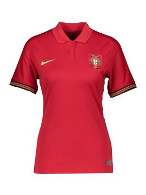 NIKE Maillot 'Portugal 2020 Stadium Home'  - Rouge - Taille: L - female
