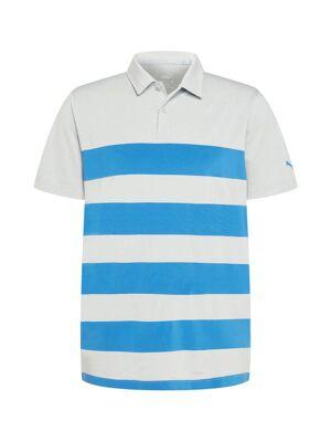 PUMA T-Shirt fonctionnel 'MATTR'  - Gris, Bleu - Taille: XL - male