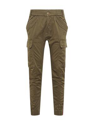 Alpha Pantalon cargo 'Airman'  - Vert - Taille: 33 - male