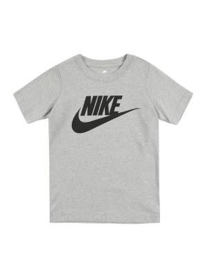 Nike Sportswear T-Shirt 'NIKE FUTURA S/S TEE'  - Gris - Taille: 116-122 - boy