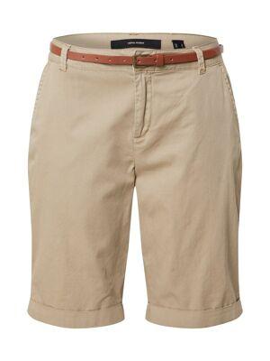 VERO MODA Pantalon 'Flash'  - Beige - Taille: M - female