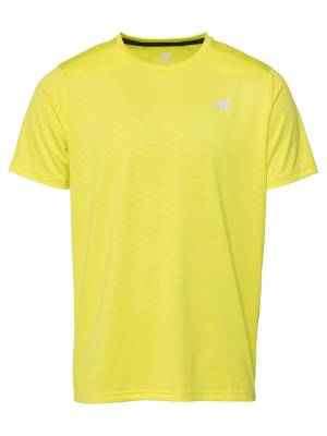 new balance T-Shirt fonctionnel 'ACCELERATE'  - Jaune - Taille: M - male