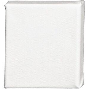Creativ Company Châssis entoilé ArtistLine, prof. 1,4 cm, dim. 10x10 cm, 360 gr, blanc, 10 pièce/ 1 Pq.