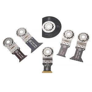FEIN Coffret de 6 lames FEIN Best of Starlock métal