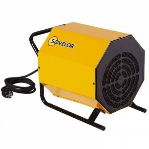 SOVELOR Chauffage mobile électrique SOVELOR C3 230V air pulsé 3300W monophasé