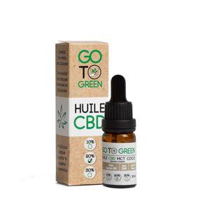 GotoGreen Huile CBD base MCT Bio - Spectre Complet 20 %