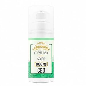 GotoGreen Crème CBD pour le sport – Greeno 1 000 Mg