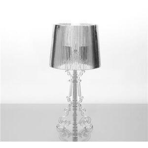 Happymobili Lampe à poser design transparent GLORY